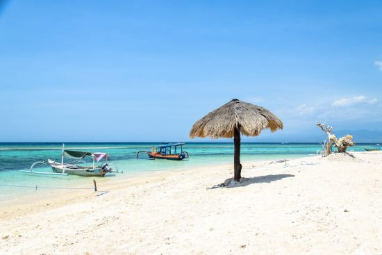 Beach of Gili Meno, indonesia