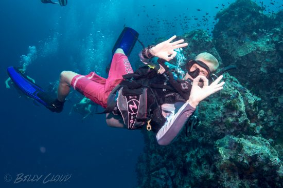 Chumphon Pinnacle ist a dive site for every level and type of diving.