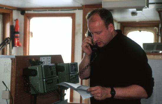Dr. Christian Bussau, Greenpeace Germany Oceans Expert. 
