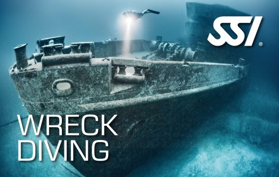 The SSI Wreck Diving Certification Card