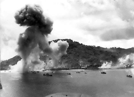 Operation Hailstone in Chuuk Logoon