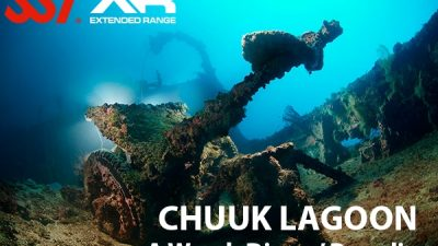 Diving in Chuuk Lagoon
