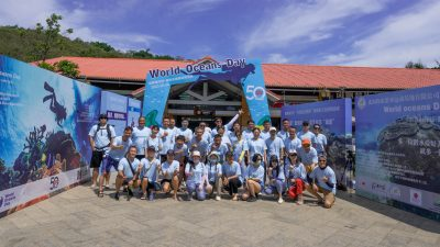 SSI China has celebrated World Oceans Day 2020