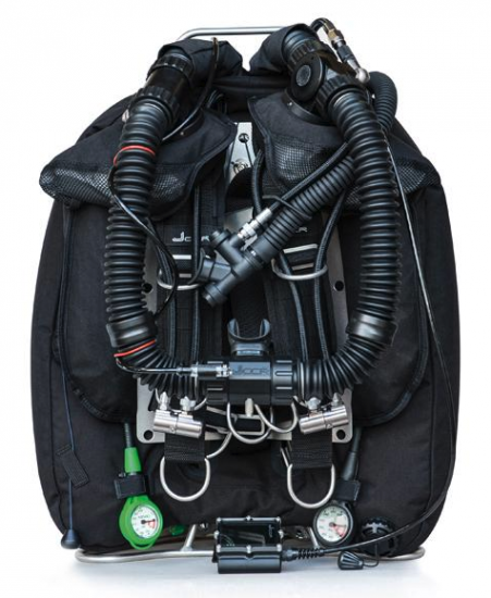 JJ CCR Rebreather front view