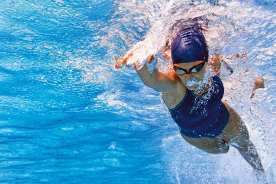 Swimming is good for our health