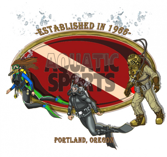 Aquatic Sports Logo