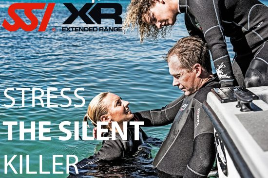 Stress is a silent killer during a dive