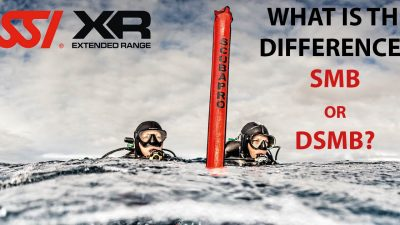 What is the difference between SMB (surface marker buoy) or DSMB (delayed surface marker buoy)?
