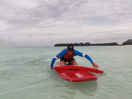 SSI Lifeguard training by Sun Siyam Diving