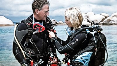 One of the most important things to remember as a new diver, or even an experienced diver, is dive safety first.