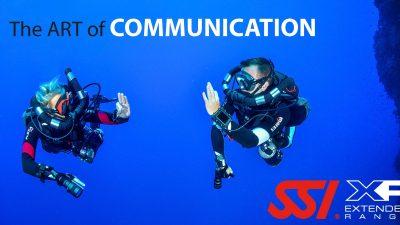 hand signals - the art of communication underwater