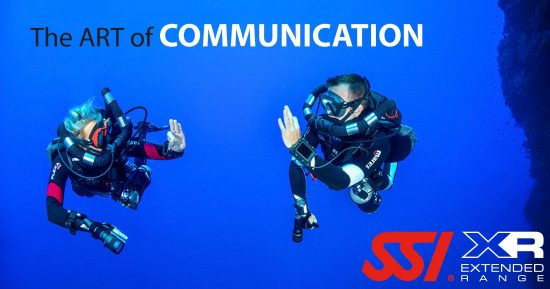 XR diving hand signals - the art of communication underwater