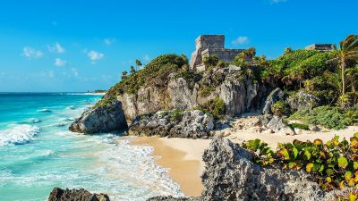 Yucatan is one of the top places to go scuba diving in Mexico.